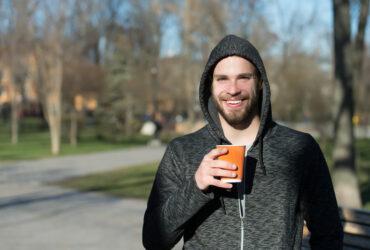 koffie voor het sporten