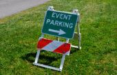 parking tijdens evenementen