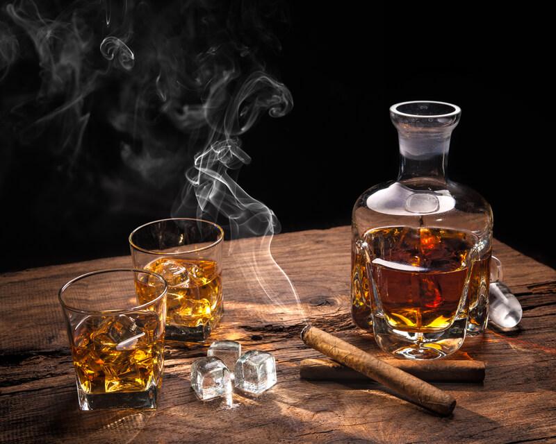 de geschiedenis van whiskey