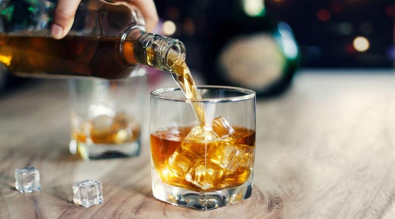 ontstaan van whiskey