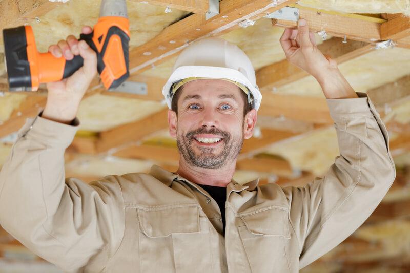 plafond repareren