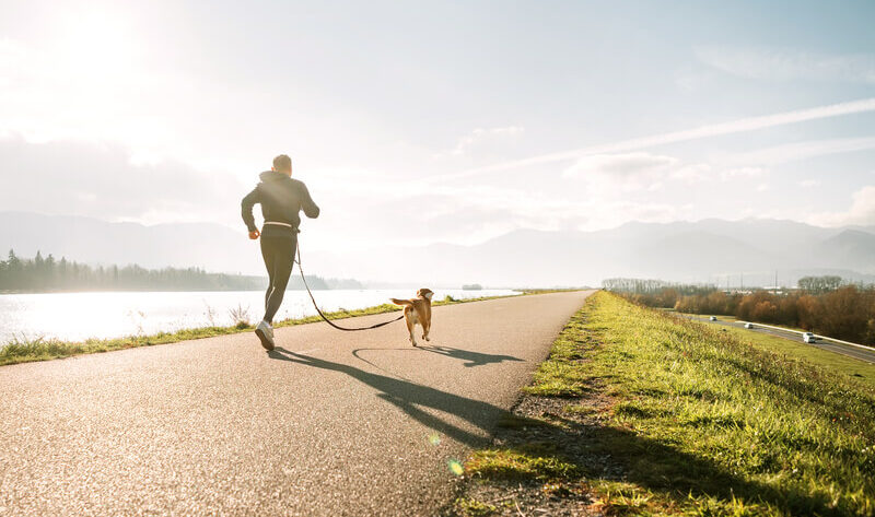 last van nek en schouders tijdens het hardlopen
